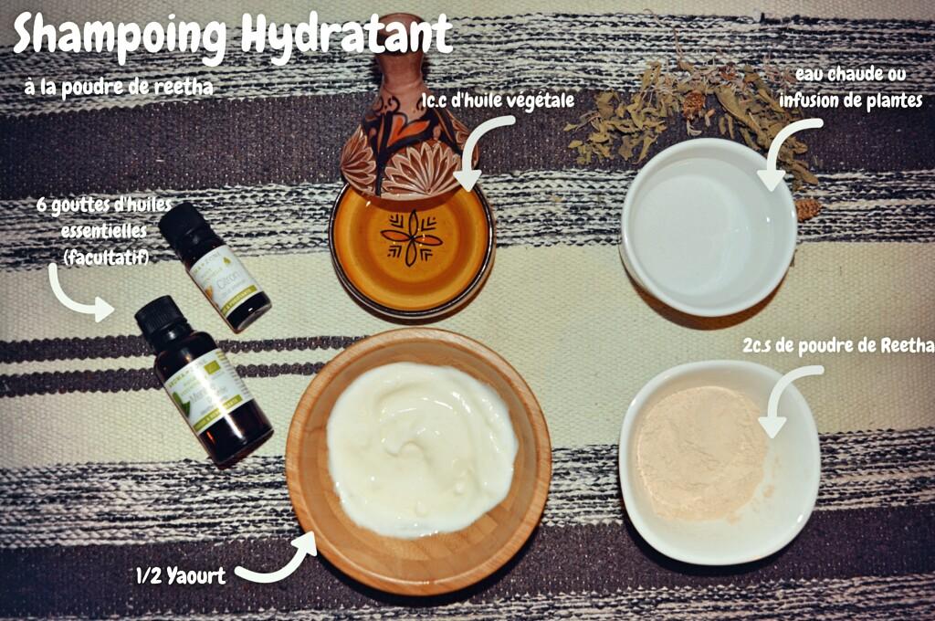 Shampoing 2 en 1 à la poudre de reetha