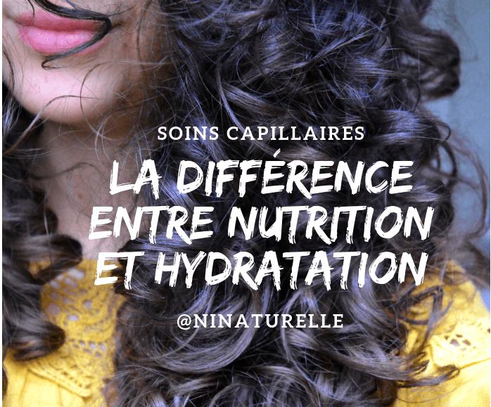 LA DIFFÉRENCE ENTRE NUTRITION ET HYDRATATION
