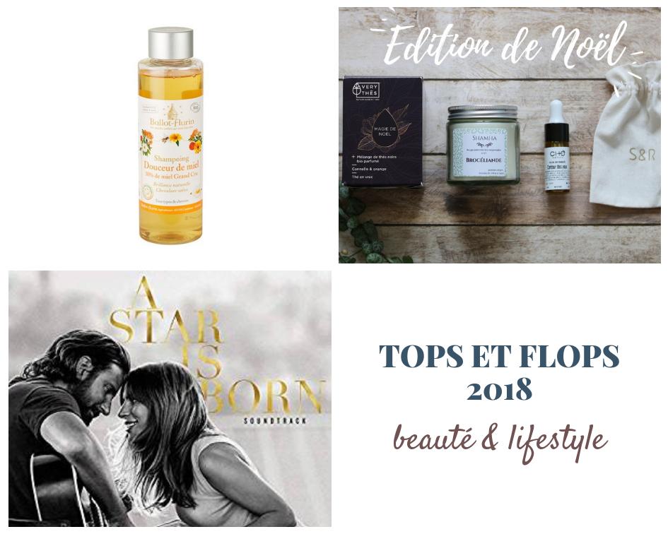 Tops et Flops 2018 : beauté bio & lifestyle de l'année