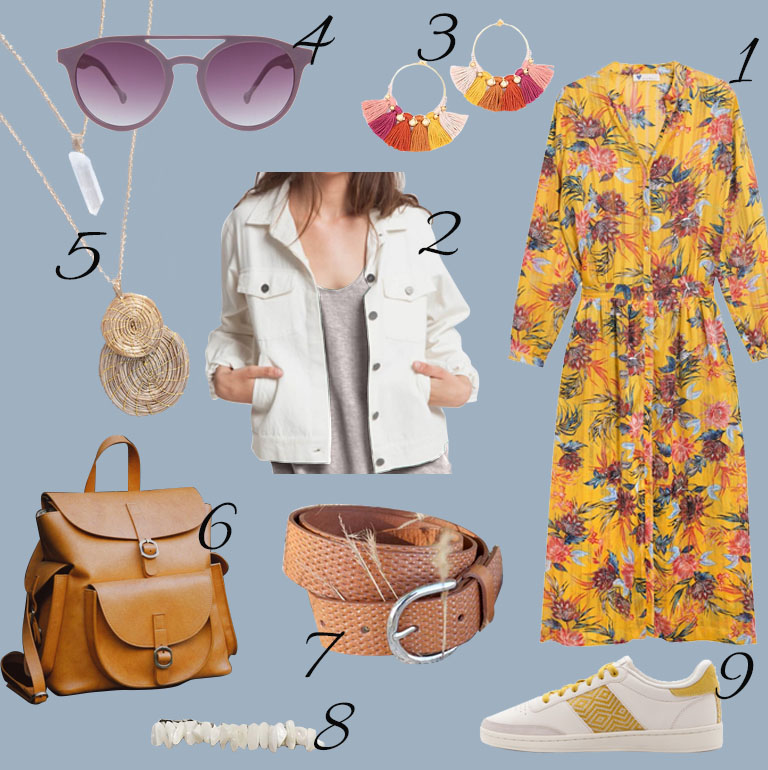 Un look éthique : Yellow Mood