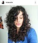 Ninaturelle : coupe - dégradé long cheveux bouclés